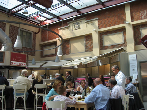 Lunch at eataly