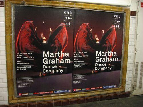 Martha graham poster