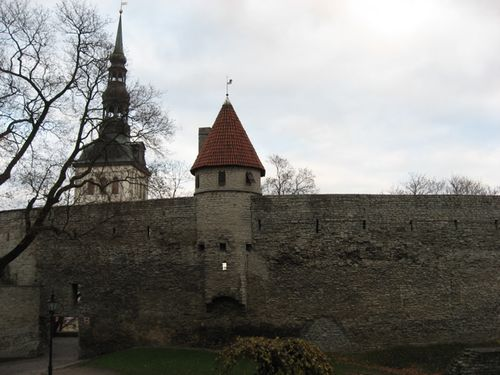 Atal castle wall and tower