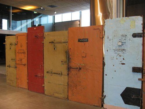 Atal museum doors