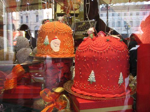 Torino christmas cakes