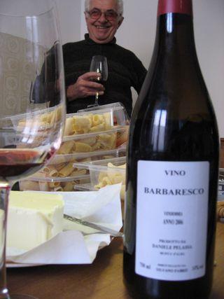 Silvano con vino