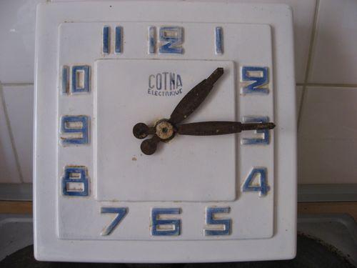 Brocante clock