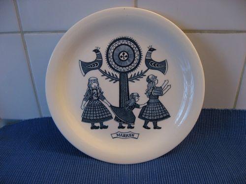 Brocante plate