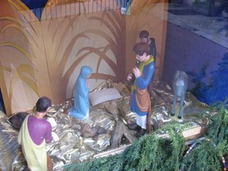 Creche waiting for baby jesus