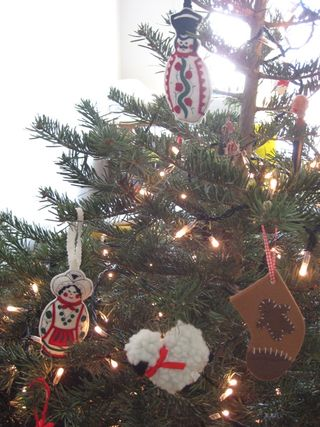 Tree hungarian ornaments