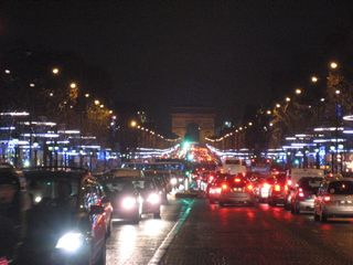 Champs elysees toward arc